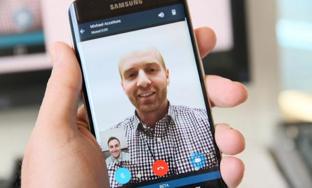 Panggilan Video pada aplikasi BBM