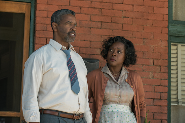Denzel Washington, Viola Davis, Fences, marriage, family, film