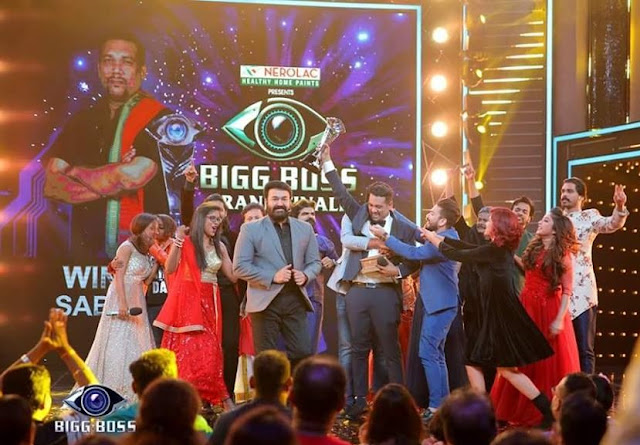 Sabumon Abdusamad - the title winner of Bigg boss malayalam season 1