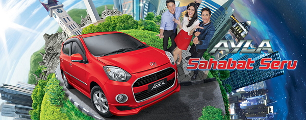 Spesifikasi Harga Daihatsu Ayla Bandung