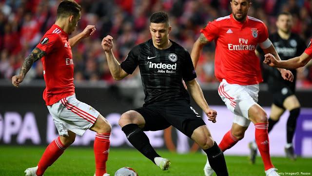 Benfica Vs eintracht Frankfurt Europa League