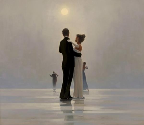Dançando para Sempre - Jack Vettriano e suas pinturas cheias de encontros íntimos