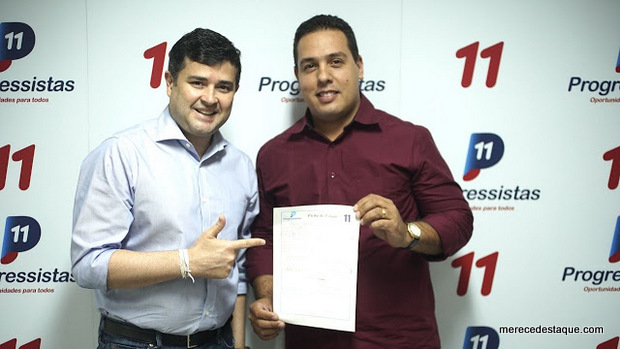 Cleiton Barboza filia-se ao PP e será candidato a deputado estadual