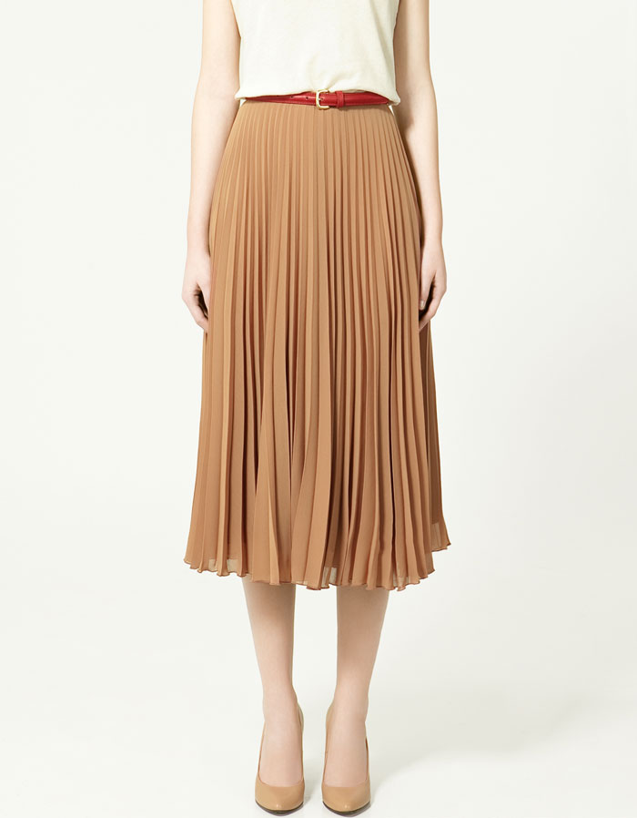 Accordion Pleat Skirt 13