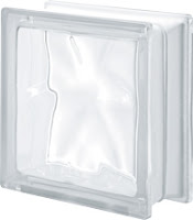 verre incolore ondulé transparent