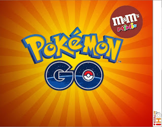 Etiquetas M&M  de Pokemon Go para imprimir gratis.