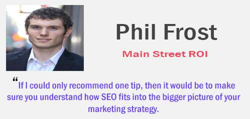 phil frost - tips SEO