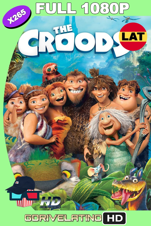 The Croods (2013) BDRip 1080p H265 10bits Latino-Inglés MKV