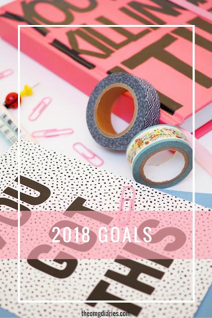 2018 goals Pinterest