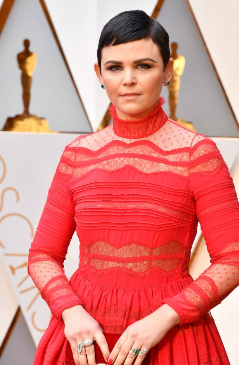 The Makeup Examiner Get Ginnifer Goodwin S Red Carpet