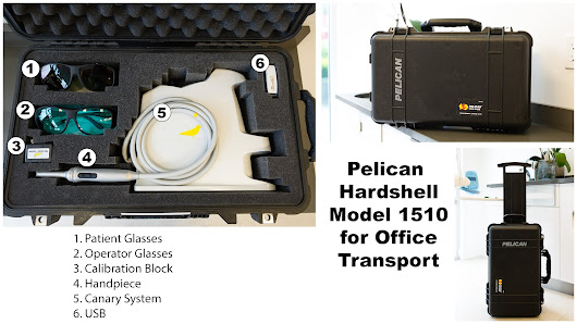 Pelican 1510 Canary Transport Case