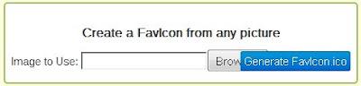 Mengganti Tampilan Icon Favicon Blog