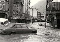 Andorra inundada 1982