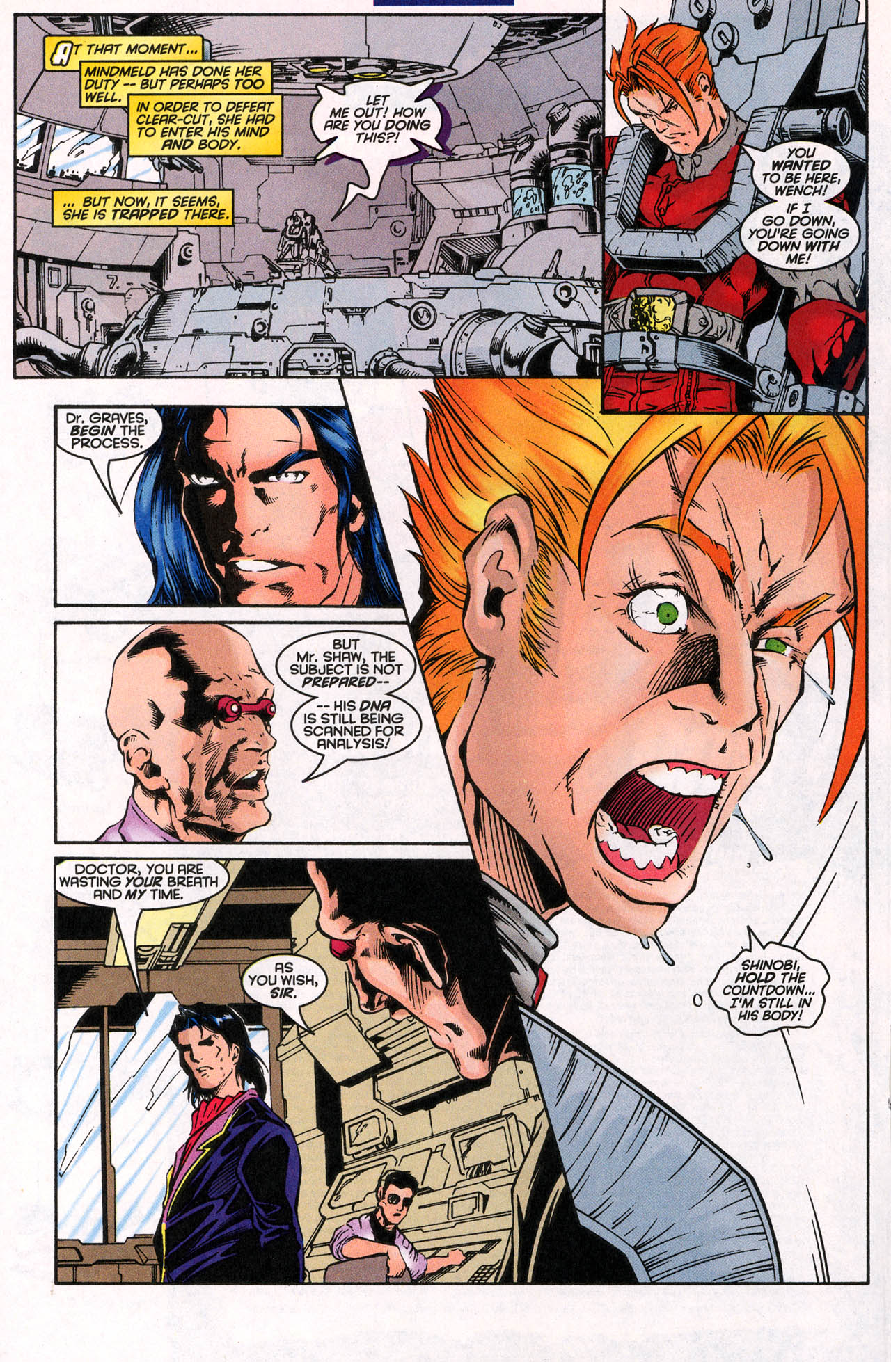 Read online X-Force (1991) comic -  Issue #62 - 21