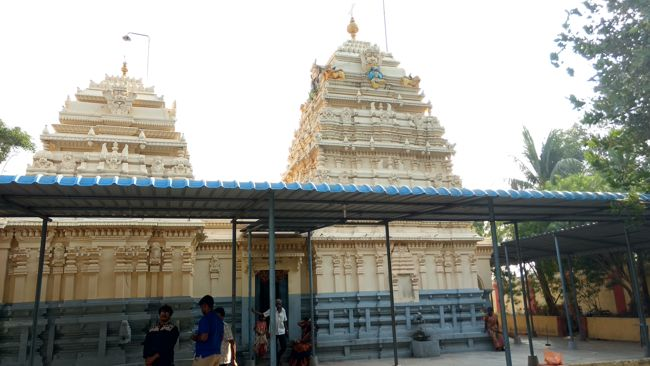 Sri Jagan Mohini Kesava Swamy Temple Towers