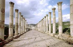 old roman city jerash