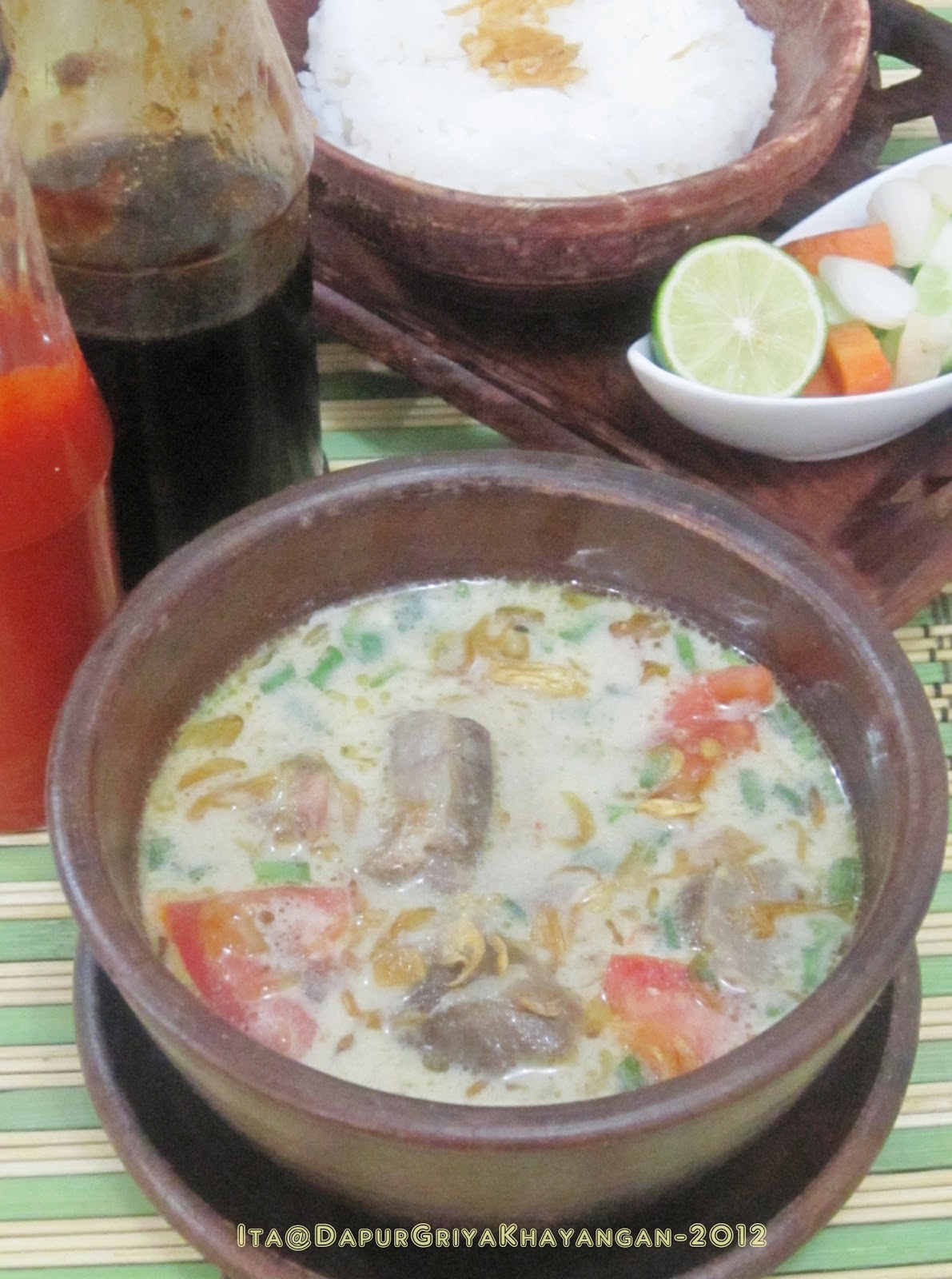 Resep Soto Betawi Bening : resep, betawi, bening, Dapur, Griya, Khayangan:, BETAWI
