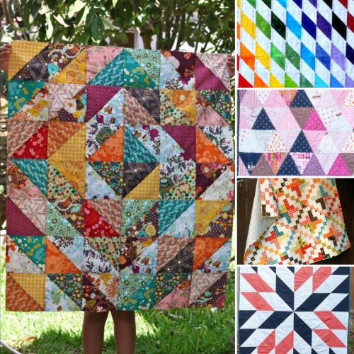 The Cutest & Easiest Quilting Patterns