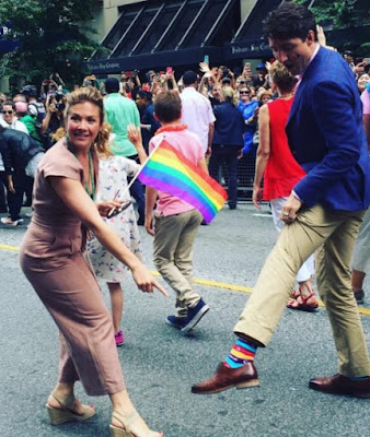 Justin Trudeau and those socks
