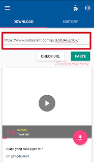 Cara Mudah Download Video di Instagram Pada Android