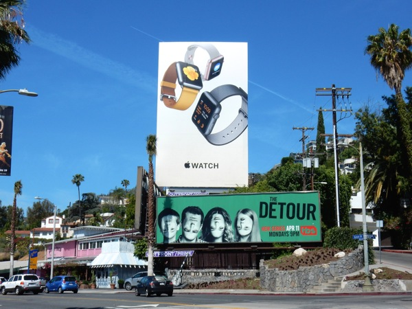 Apple Watch 2016 billboard Sunset Strip