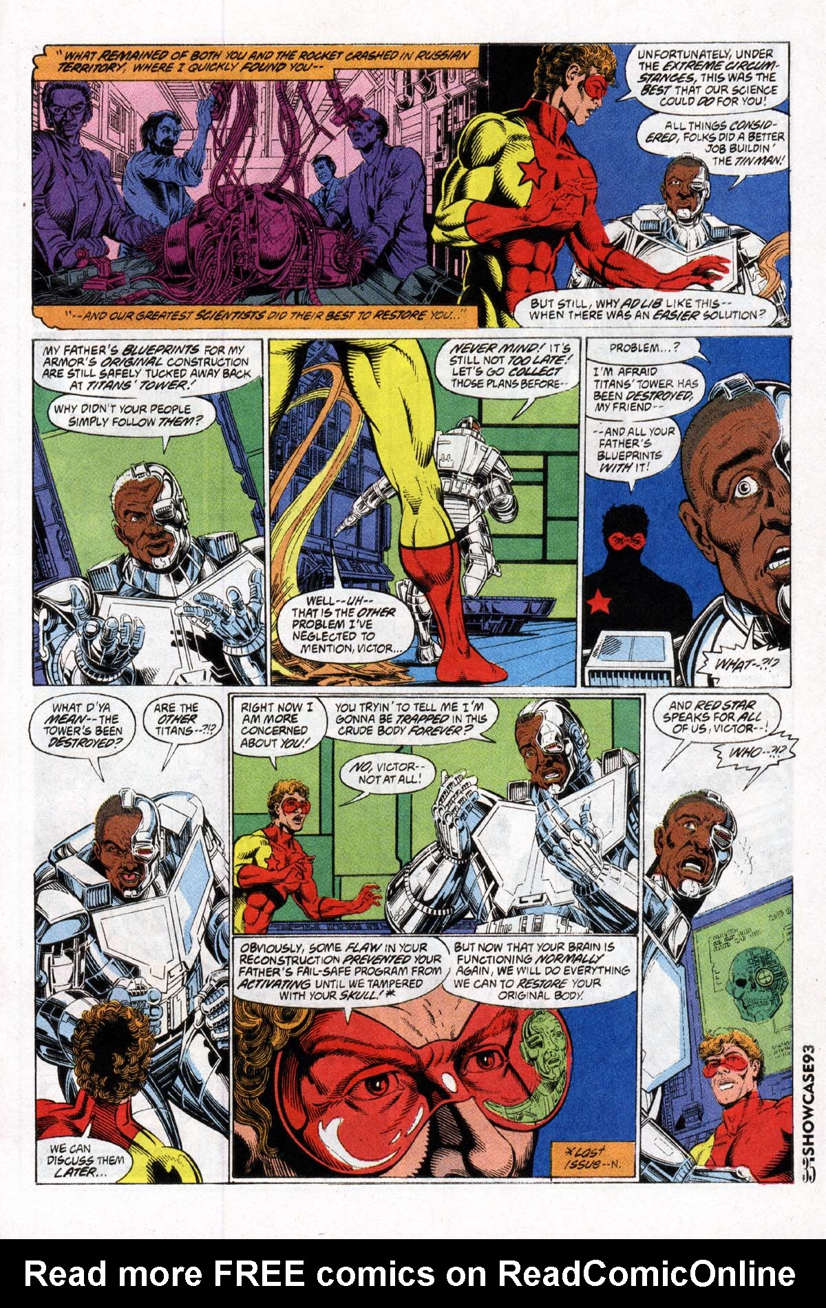 Read online Showcase '93 comic -  Issue #2 - 36