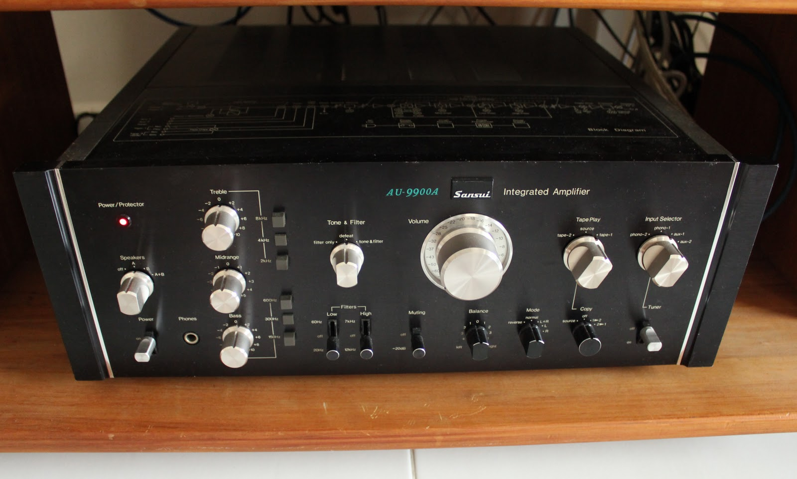 Sansui AU-11000A - Integrated Amplifier | AudioBaza