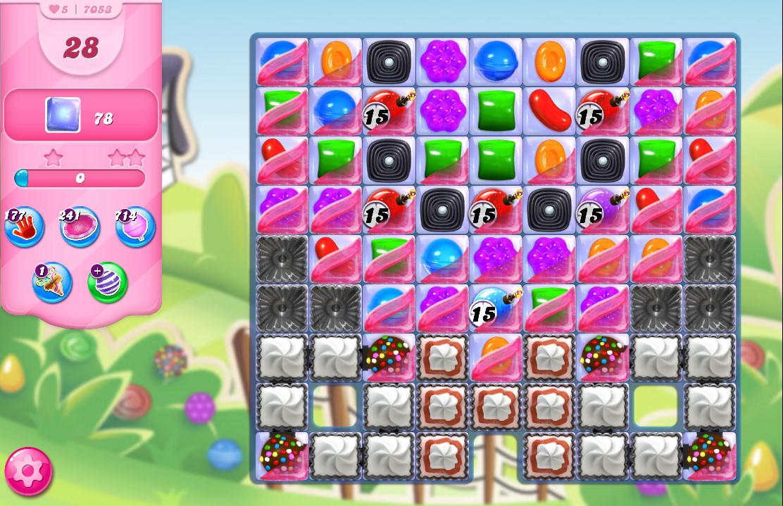 Candy Crush Saga level 7053