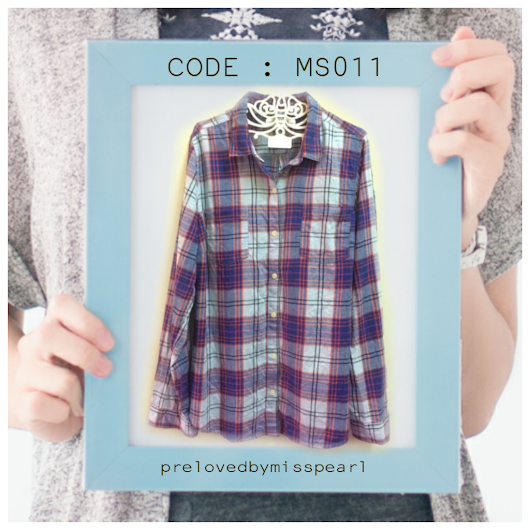 FLANNEL BLOUSE : MS011 TO MS020