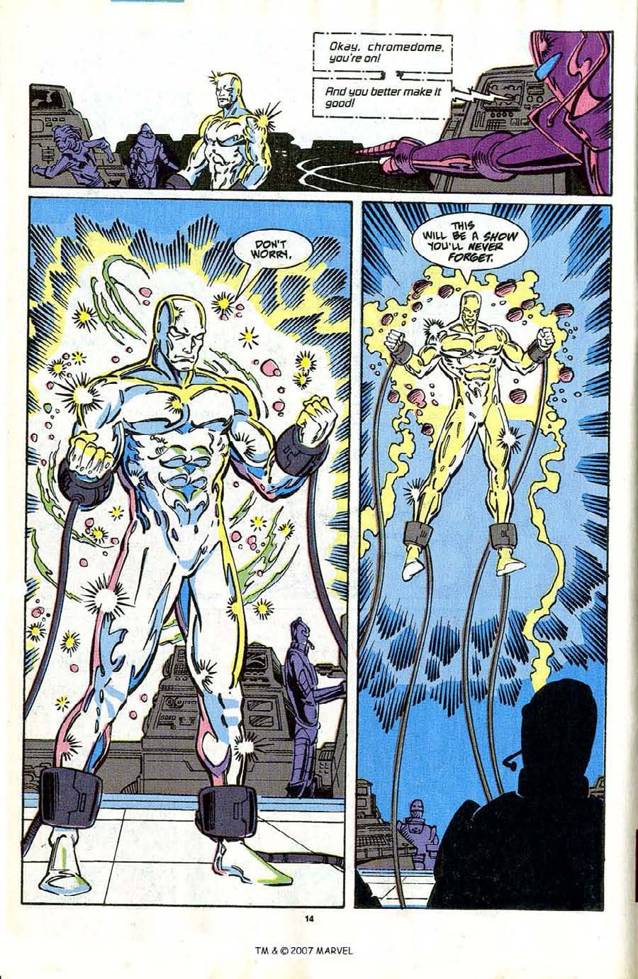 Read online Silver Surfer (1987) comic -  Issue #42 - 16