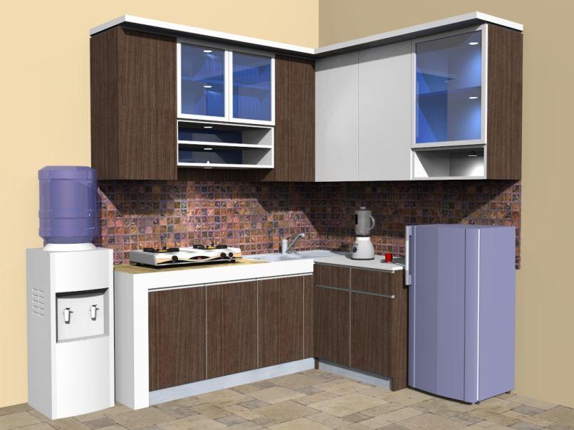 Harga 70 Model Gambar Kitchen Set Minimalis Kumpulan Desain