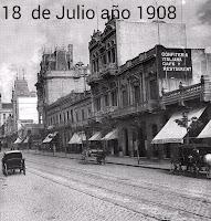 18 de Julio año 1908