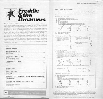 Freddie & the Dreamers - Do the Freddie (1965) +  Little Red Donkey...