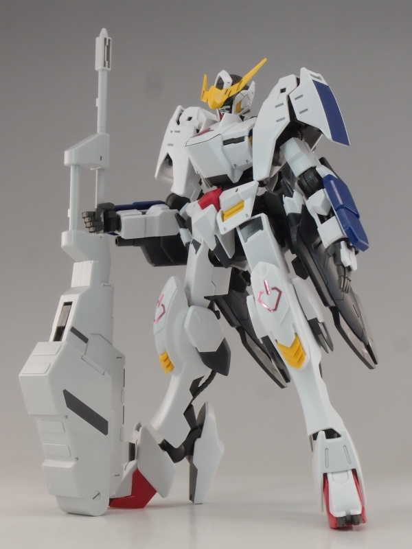 GUNDAM GUY: 1/100 Gundam Barbatos 6th Form - Review by Kenbill
