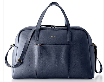 Mark & Graham leather weekender bag - perfect for all upcoming summer travels