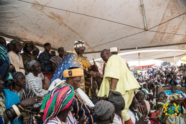 """""""Unite Behind New Yaa-Na"""" – President Akufo-Addo"""