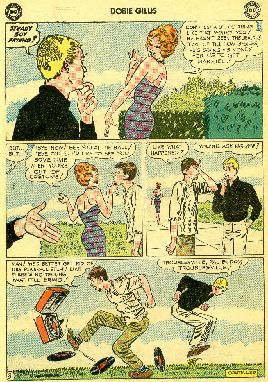 Many Loves of Dobie Gillis issue 4 - Page 10