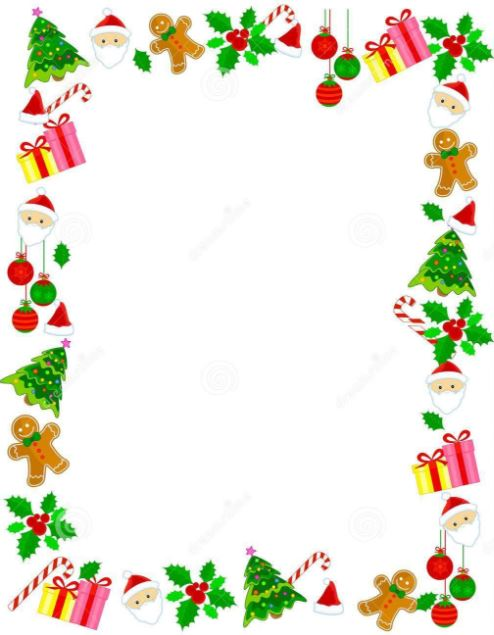Free Christmas Border Images