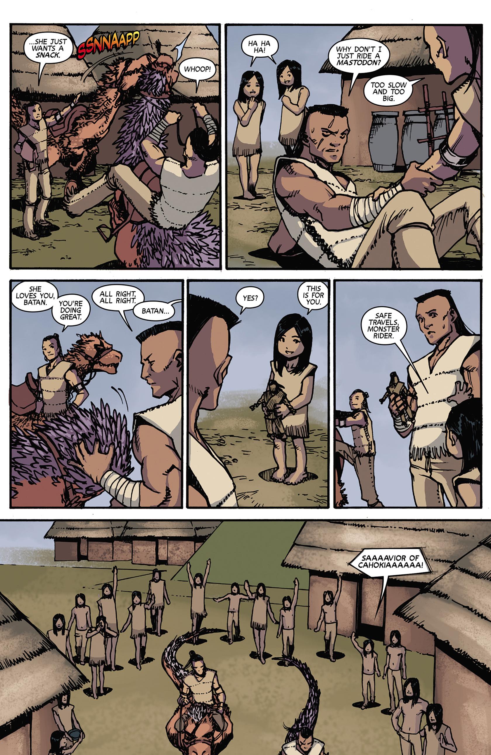 Read online Turok: Dinosaur Hunter (2014) comic -  Issue #7 - 16