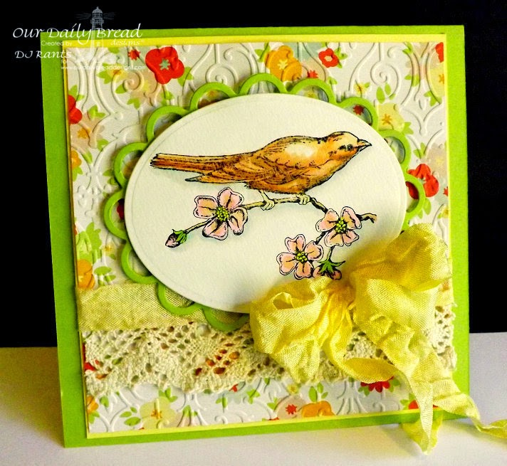 Stamps - Our Daily Bread Designs Bird Single