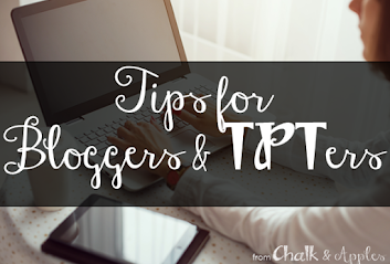 Tips for Bloggers & TPTers