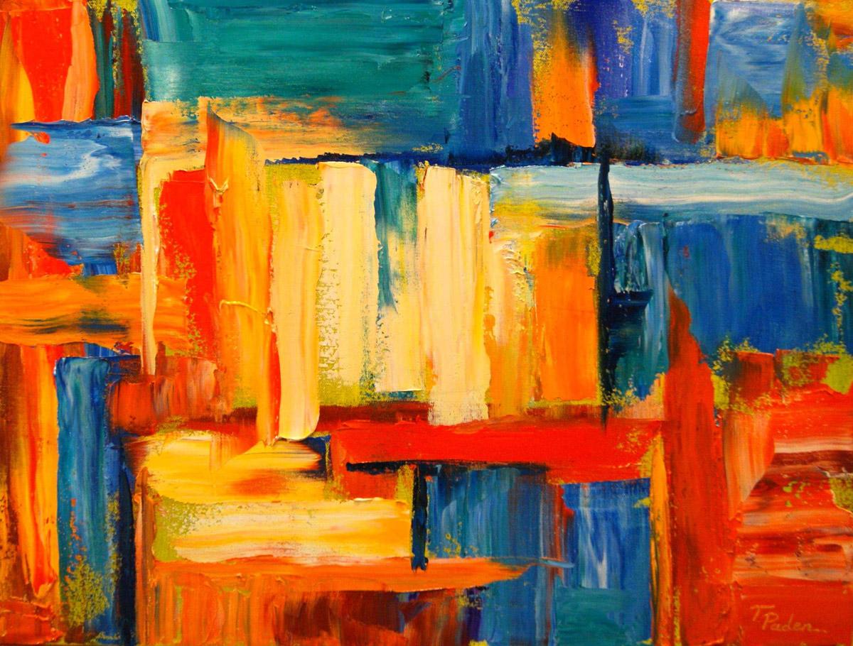 Creativoltz Contoh Lukisan Abstrak