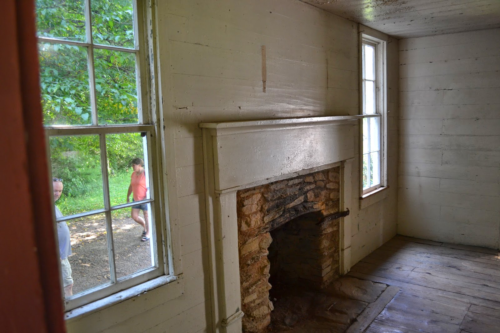 Cades Cove Fireplace