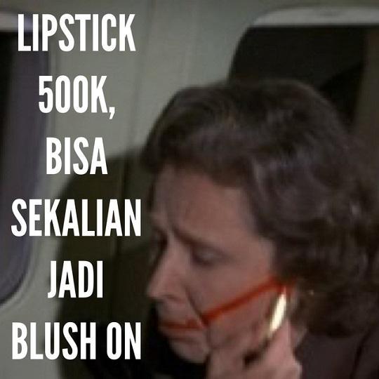 Bedanya lipstik 500K itu multifungsi