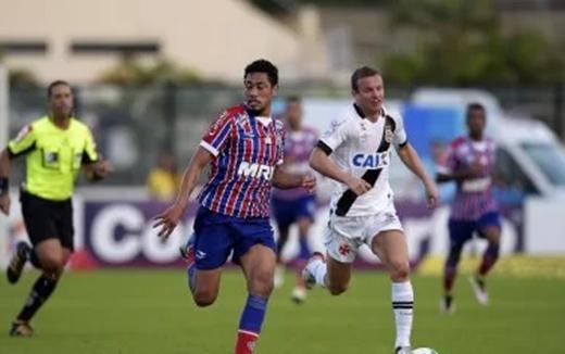 Vasco vence o Bahia por 4 a 3