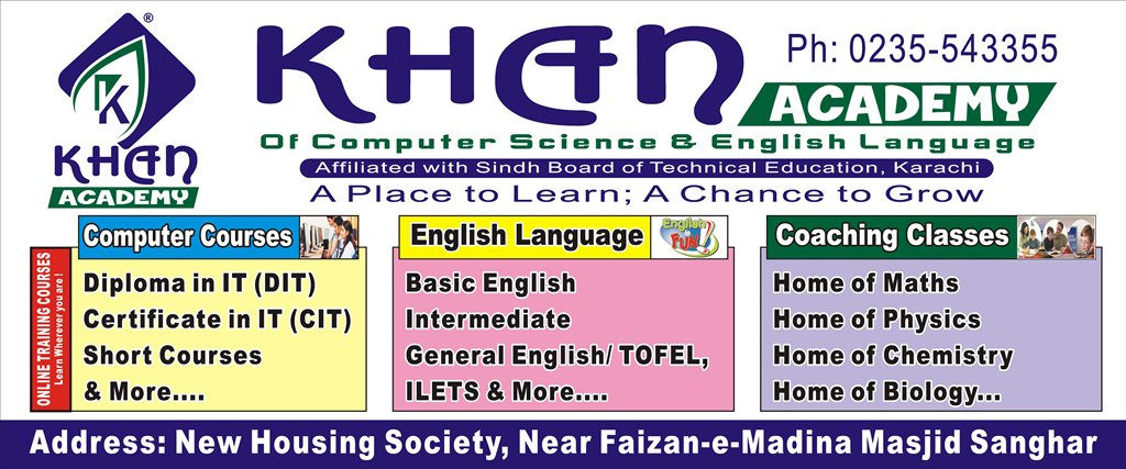 Major Courses ~ Khan Academy of Computer Science and English
