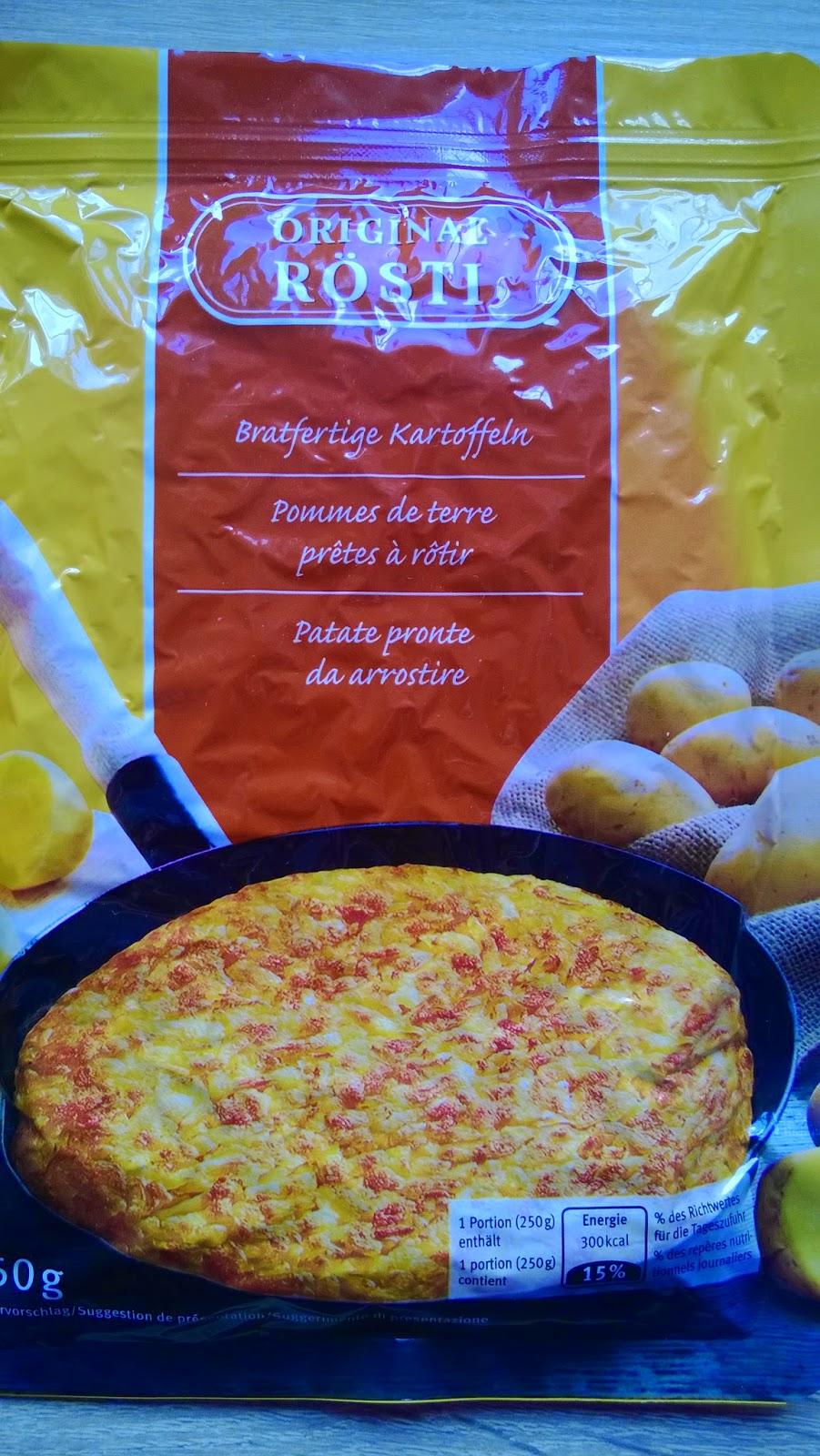 Kartoffel Rösti