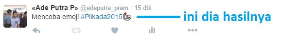 Twitter Luncurkan Emoji Pilkada 2015 Serentak pada #Pilkada2015