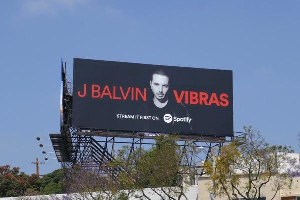 J Balvin Vibras Spotify billboard