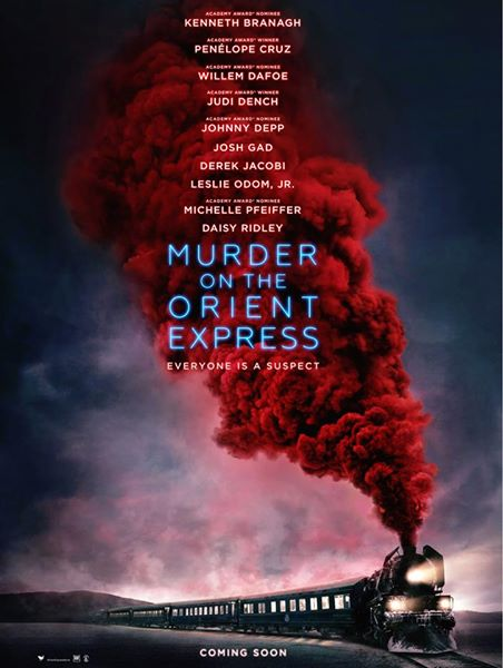 Murder on the Orient Express trailer poster